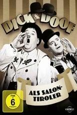 Dick und Doof als Salontiroler