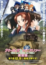 Poster anime Girls & Panzer: Saishuushou Part 1 Sub Indo
