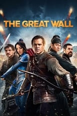 Official movie poster for The Great Wall (2017)