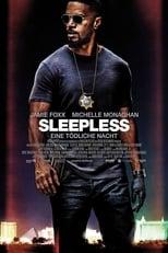Sleepless - Eine tödliche Nacht: Vincent und Sean sind korrupte Cops in Las Vegas, die sich einen Zusatzverdienst verschaffen, indem sie Drogen unterschlagen und weiterverkaufen. Doch dann pissen sie die falschen Verbrecher an: Weil sie sich seine ganze Schiffsladung Kokain unter den Nagel gerissen haben, entführt der Casino-Boss Stan Rubino Vincents Sohn Thomas und droht, ihn zu ermorden, wenn Vincent das Kokain nicht zurückgibt. Gejagt von Kollegin Jennifer Bryant, die misstrauisch geworden und Drogenbaron Rob Novak, der sadistisch ist, muss Vincent alle Hebel in Bewegung setzen, all sein Können zeigen, um seinen Sohn zu retten. Und dabei muss er sich auch der Frage stellen, auf welcher Seite des Gesetzes er wirklich stehen will…