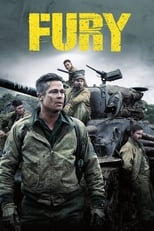 Official movie poster for Fury (2014)