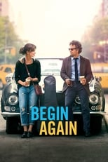 Official movie poster for Begin Again (2014)