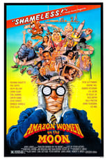 Official movie poster for Amazon Women on the Moon (1987)