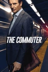 Official movie poster for The Commuter (2018)