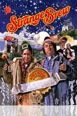 Official movie poster for Strange Brew (1983)