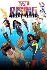 Imagen Marvel Rising: Secret Warriors HD 1080p, español latino, 2018