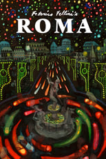 Roma (Fellini: Roma) poster