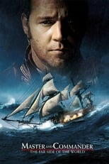 Official movie poster for Master and Commander: The Far Side of the World (2003)