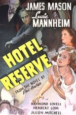 Hotel Reserve (1944) Box Art