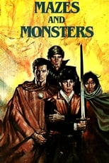 Official movie poster for Mazes and Monsters (1982)