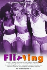 Official movie poster for Flirting (1992)