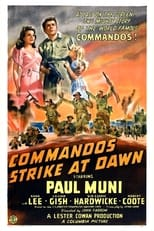 Commandos Strike At Dawn (1942) Box Art