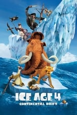 Official movie poster for Ice Age: Continental Drift (2012)