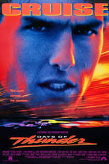 Official movie poster for Days of Thunder (1990)