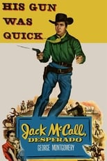 Jack Mccall, Desperado (1953) Box Art