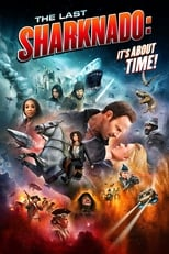 The Last Sharknado: It's About Time (2018) Box Art