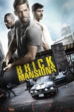 Official movie poster for Brick Mansions (2014)