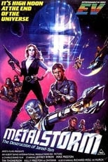 Official movie poster for Metalstorm: The Destruction of Jared-Syn (1983)