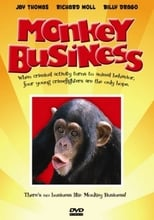 Official movie poster for Monkey Business (1998)
