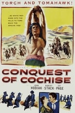 Conquest Of Cochise (1953) Box Art