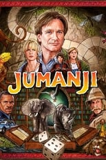 Official movie poster for Jumanji (1995)