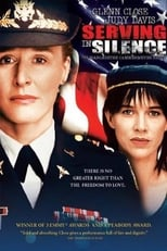 Official movie poster for Serving in Silence: The Margarethe Cammermeyer Story (1995)