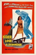 Never Love a Stranger (1958) Box Art
