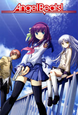 Poster anime Angel Beats! Sub Indo