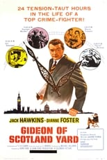 Gideon of Scotland Yard (1958) Box Art