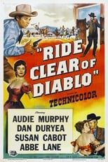 Ride Clear of Diablo (1954) Box Art