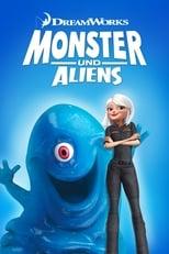 Filmposter: Monsters vs Aliens
