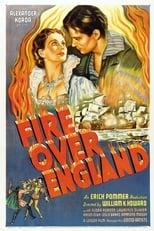 Fire Over England (1937) Box Art