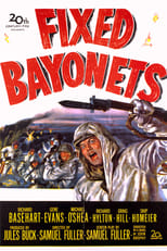 Official movie poster for Fixed Bayonets! (1951)