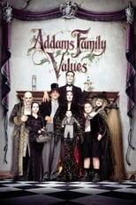 Official movie poster for Addams Family Values (1993)