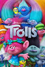 Official movie poster for Trolls (2016)