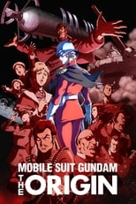 Poster anime Mobile Suit Gundam: The Origin Sub Indo