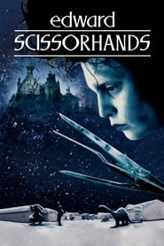 Edward Scissorhands (1990) poster on IndoXX1