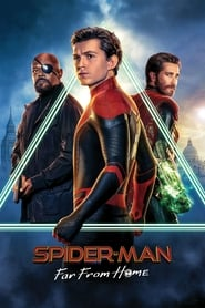 Spider-Man: Far from Home (2019) Movie poster Ganool