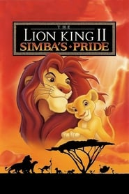 View The Lion King 2: Simba's Pride (1998) Movie poster on Ganool