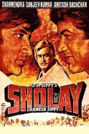 View Sholay (1975) Movie poster on INDOXX1