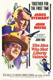 View The Man Who Shot Liberty Valance (1962) Movie poster on Ganool