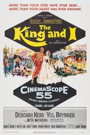View The King and I (1956) Movie poster on Ganool