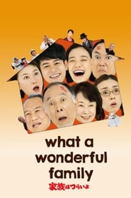 View What a Wonderful Family! (2016) Movie poster on Ganool