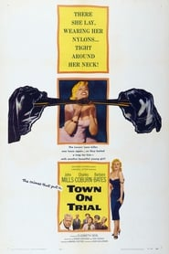 View Town on Trial (1957) Movie poster on Ganool