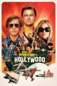 Once Upon a Time in Hollywood (2019) Movie poster Ganool