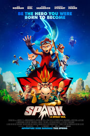 Poster Movie Spark: A Space Tail 2017