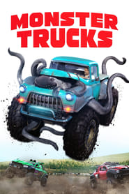 Poster Movie Monster Trucks 2016