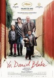 Poster Movie I, Daniel Blake 2016