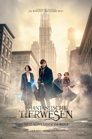 Poster Movie Fantastic Beasts and Where to Find Them 2016