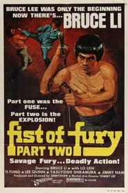 View Fist of Fury 2 (1977) Movie poster on Ganool